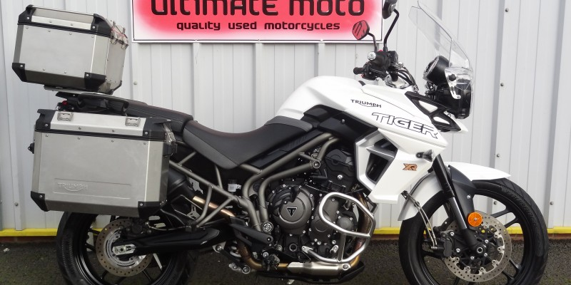 Triumph Tiger 800 XR For Sale Here At Ultimate Moto Along With Other Motorcycles Direct From Our Showroom.