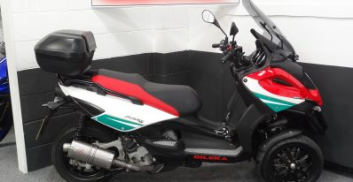 Gilera Fuoco 500 Centenary edition 100th anniversary for sale at ultimate moto north east showroom motorcycle