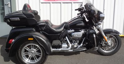 Harley Davidson Tri Glide FLHTCUTG 107 Milwaukee 8 For sale At Ultimate moto showroom north east motorcycle
