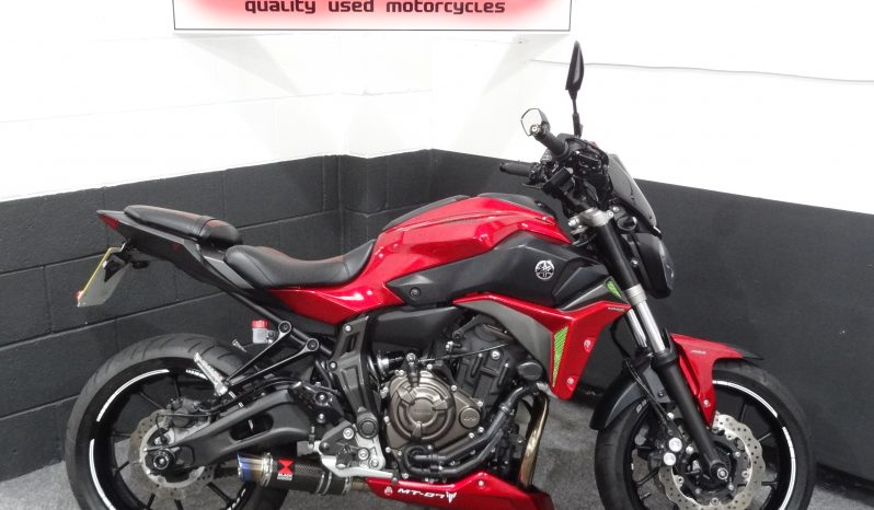 Yamaha MT 07 ABS For Sale At Ultimate Moto SHowroom North East Motorcycle